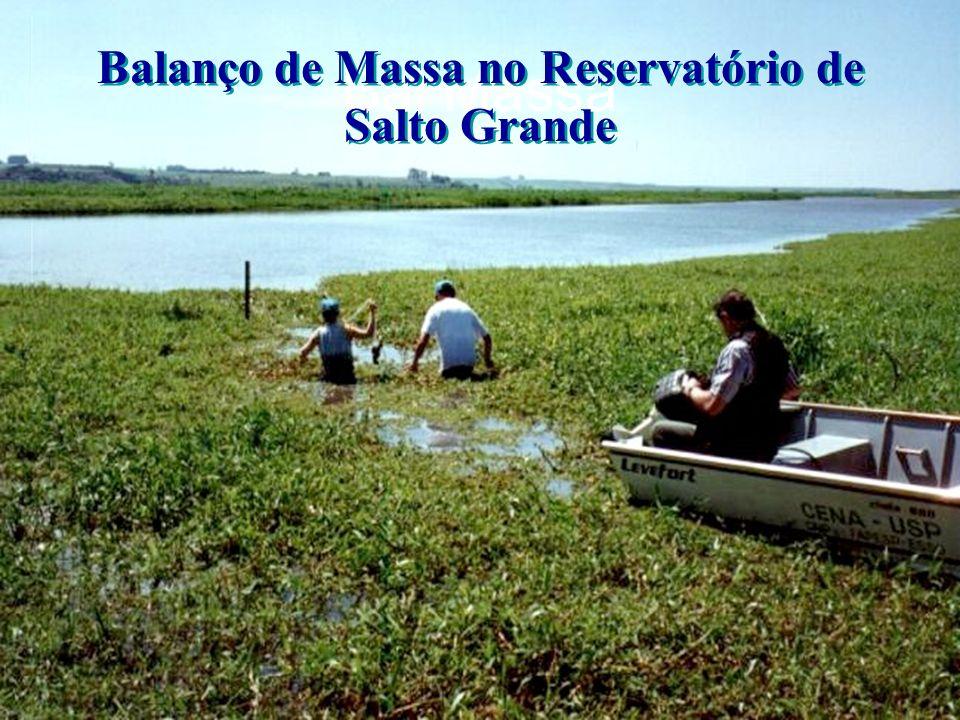 Bal Massa Balanço de Massa no Reservatório de Salto Grande Balanço de Massa no Reservatório de Salto Grande
