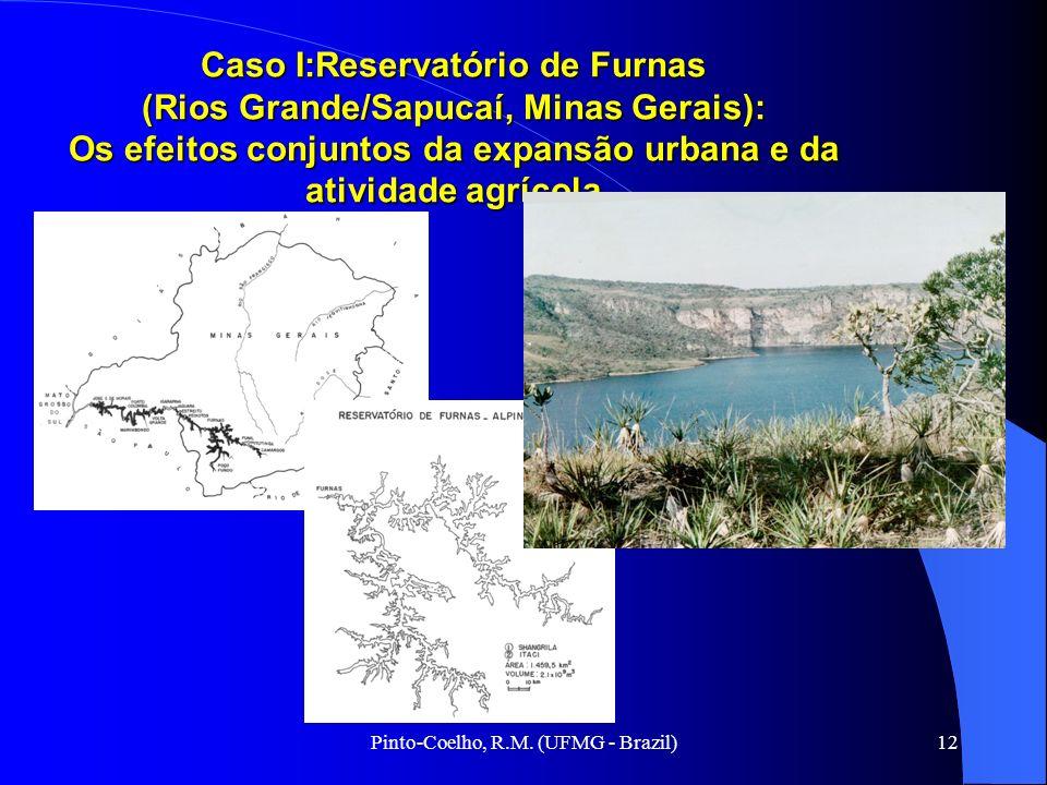 Pinto-Coelho, R.M. (UFMG - Brazil)12 Caso I:Reservatório de Furnas (Rios Grande/Sapucaí, Minas Gerais): Os efeitos conjuntos da expansão urbana e da a