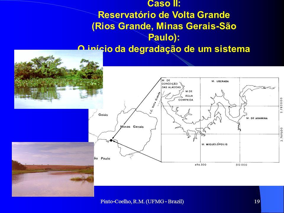 Pinto-Coelho, R.M. (UFMG - Brazil)19 Aguila, 2000 Caso II: Reservatório de Volta Grande (Rios Grande, Minas Gerais-São Paulo): O início da degradação