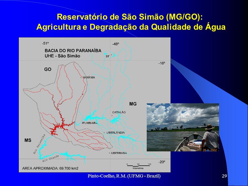 Pinto-Coelho, R.M. (UFMG - Brazil)29 Reservatório de São Simão (MG/GO): Agricultura e Degradação da Qualidade de Água