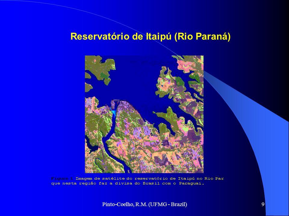 9 Reservatório de Itaipú (Rio Paraná)