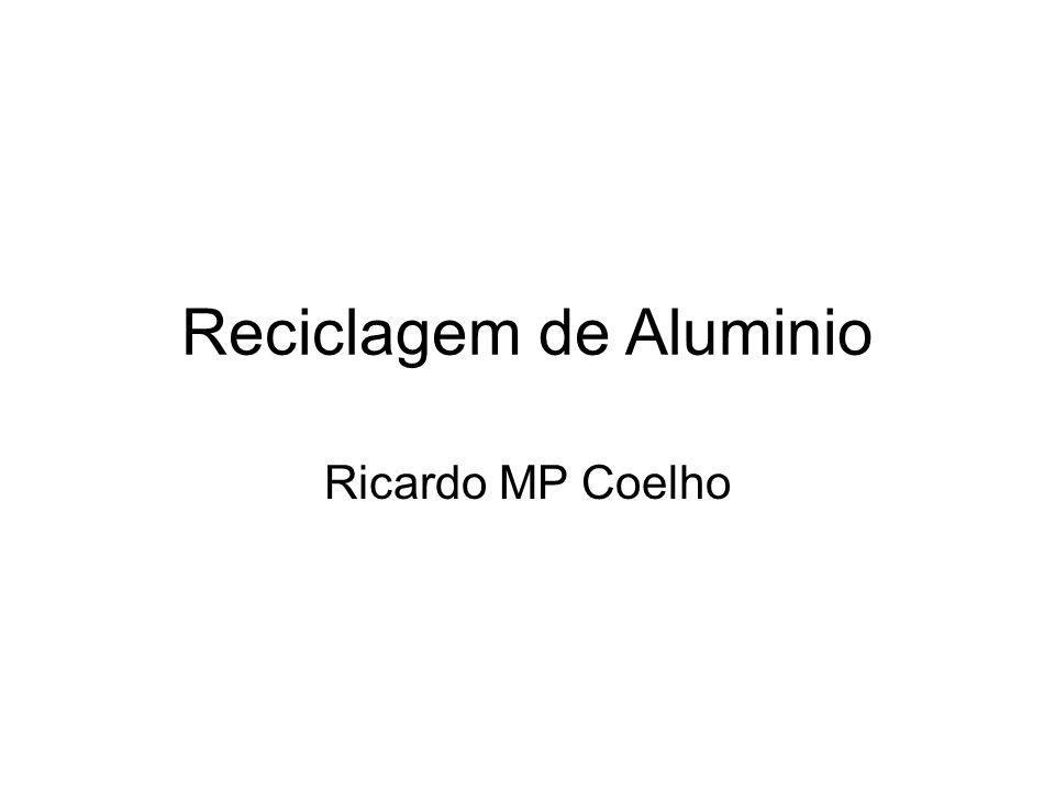 Reciclagem de Aluminio Ricardo MP Coelho