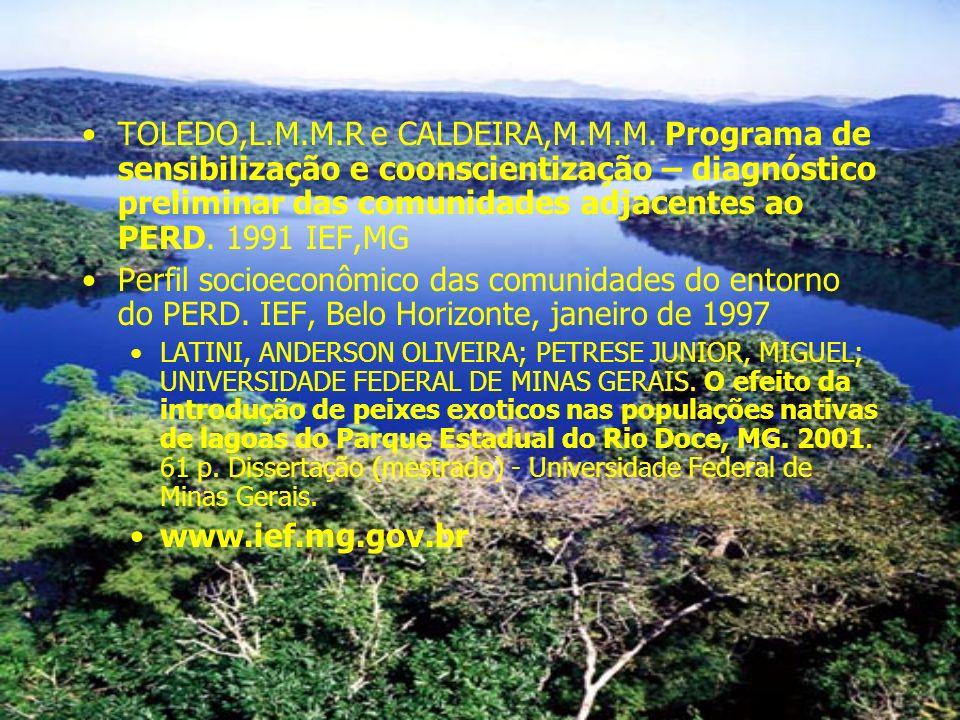 TOLEDO,L.M.M.R e CALDEIRA,M.M.M.