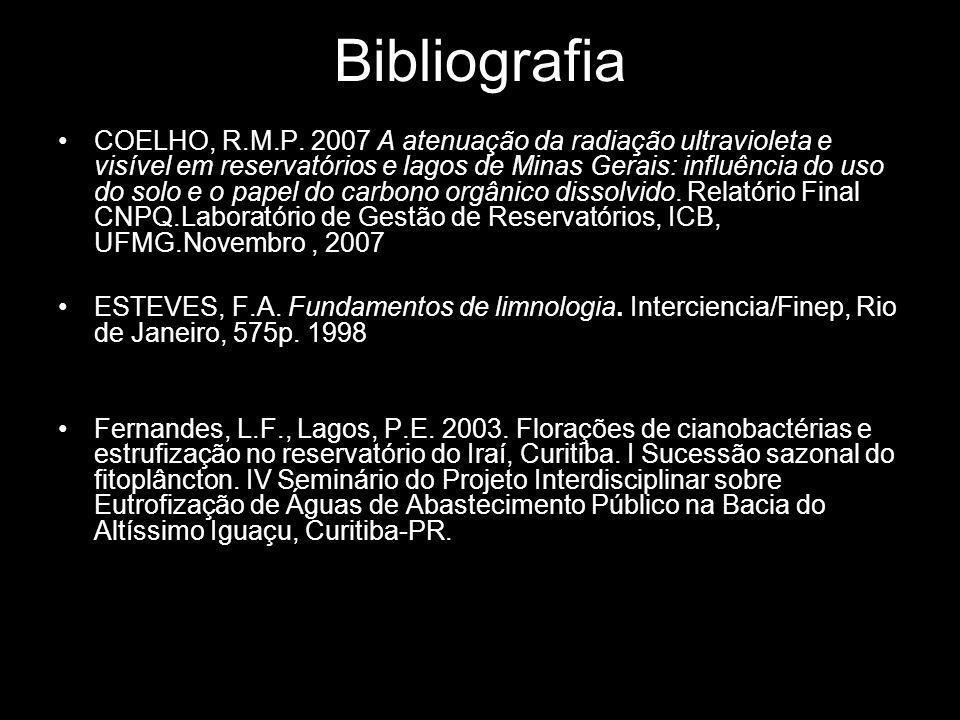 Bibliografia COELHO, R.M.P.