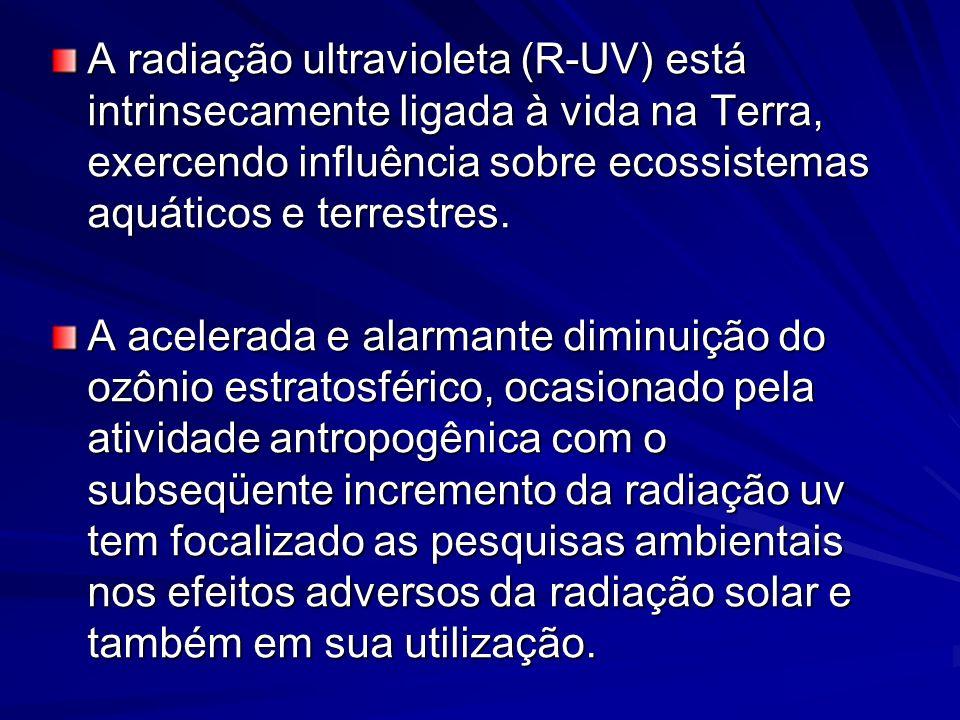 A radiação ultravioleta (R-UV) está intrinsecamente ligada à vida na Terra, exercendo influência sobre ecossistemas aquáticos e terrestres. A acelerad