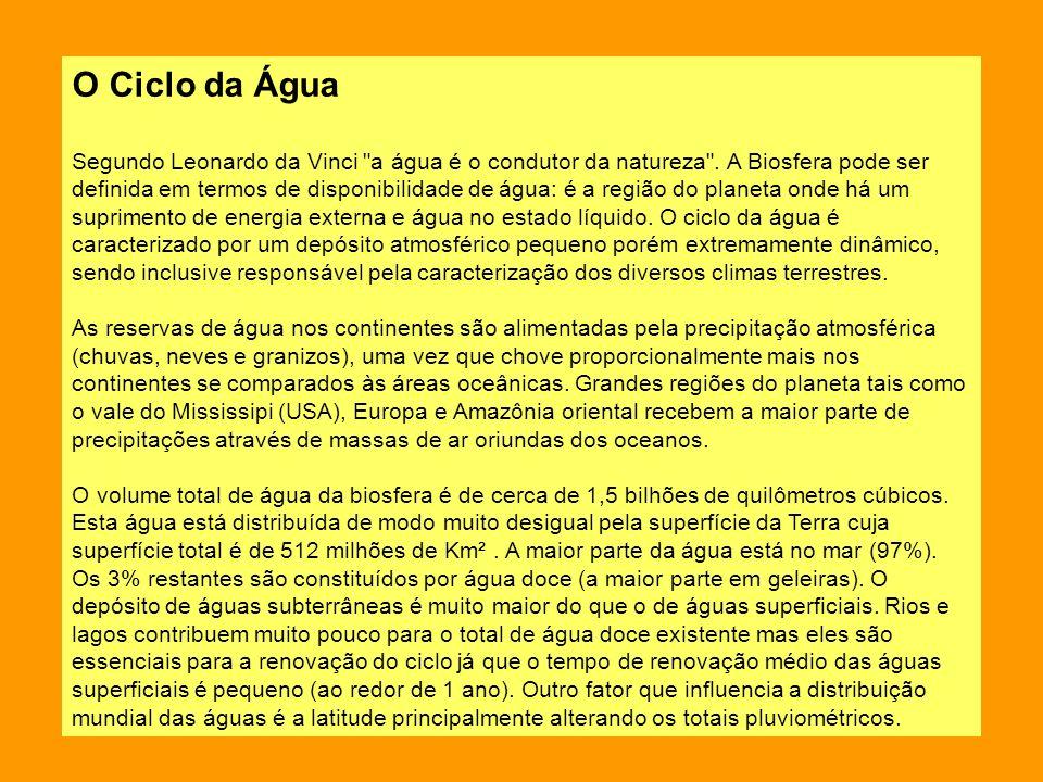 O Ciclo da Água Segundo Leonardo da Vinci