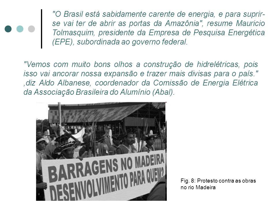 PORTO VELHO, RO – Milhares de peixes boiaram, mortos, no rio Madeira, a seis quilômetros da capital de Rondônia, após o início da construção da barragem da Usina Hidrelétrica de Santo Antônio, a primeira projetada para este Estado da Amazônia Ocidental Brasileira.