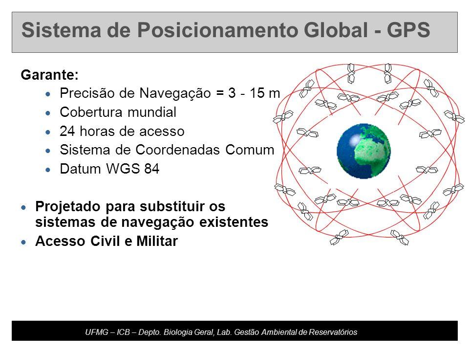 Developed by: Host Updated: 10.20.04 U4-m16.2-s4 UFMG – ICB – Depto. Biologia Geral, Lab. Gestão Ambiental de Reservatórios Garante: Precisão de Naveg