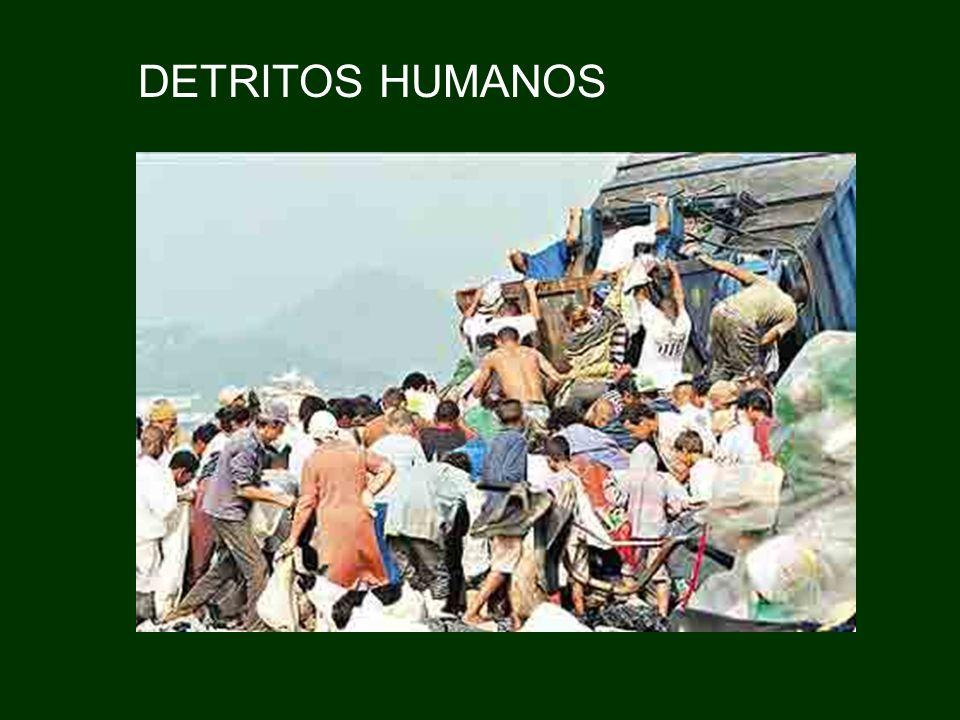 DETRITOS HUMANOS