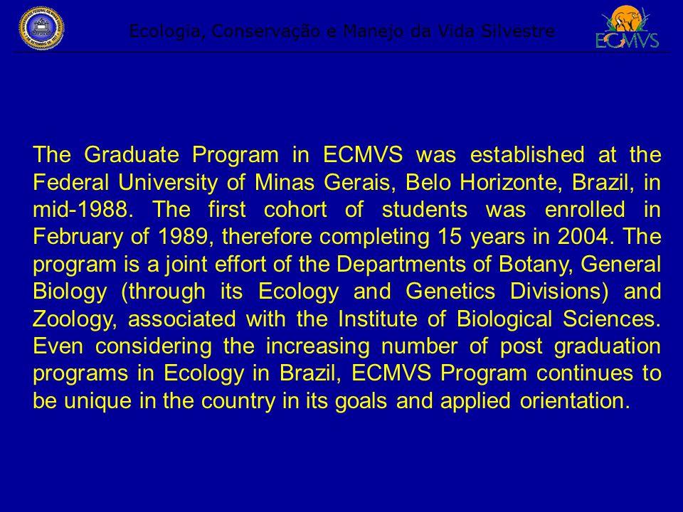 Professor Ricardo Motta Pinto Coelho (ECMVS, coordinator) Research axis: Management of reservoirs, ecophysiology of plankton, environmental education on www (distance education).