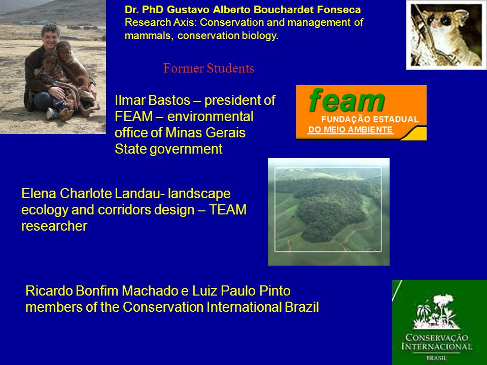 Ilmar Bastos – president of FEAM – environmental office of Minas Gerais State government Ricardo Bonfim Machado e Luiz Paulo Pinto members of the Cons