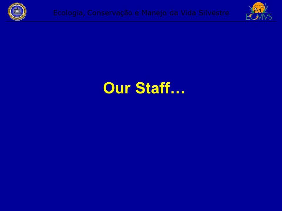 Our Staff… Ecologia, Conservação e Manejo da Vida Silvestre