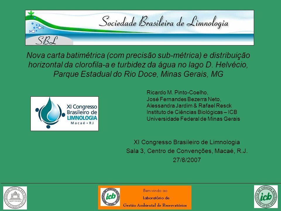 A questão da localização geográfica em Limnologia Onde fica o Parque Estadual do Rio Doce, Minas Gerais .