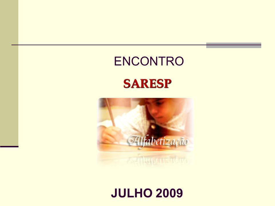 ENCONTROSARESP JULHO 2009
