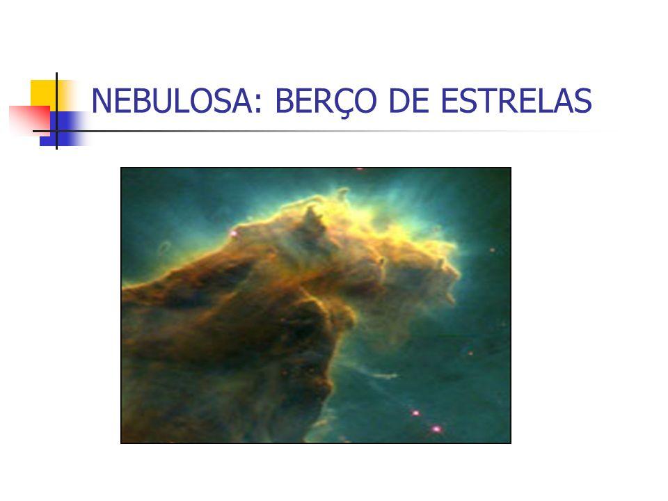 NEBULOSA: BERÇO DE ESTRELAS