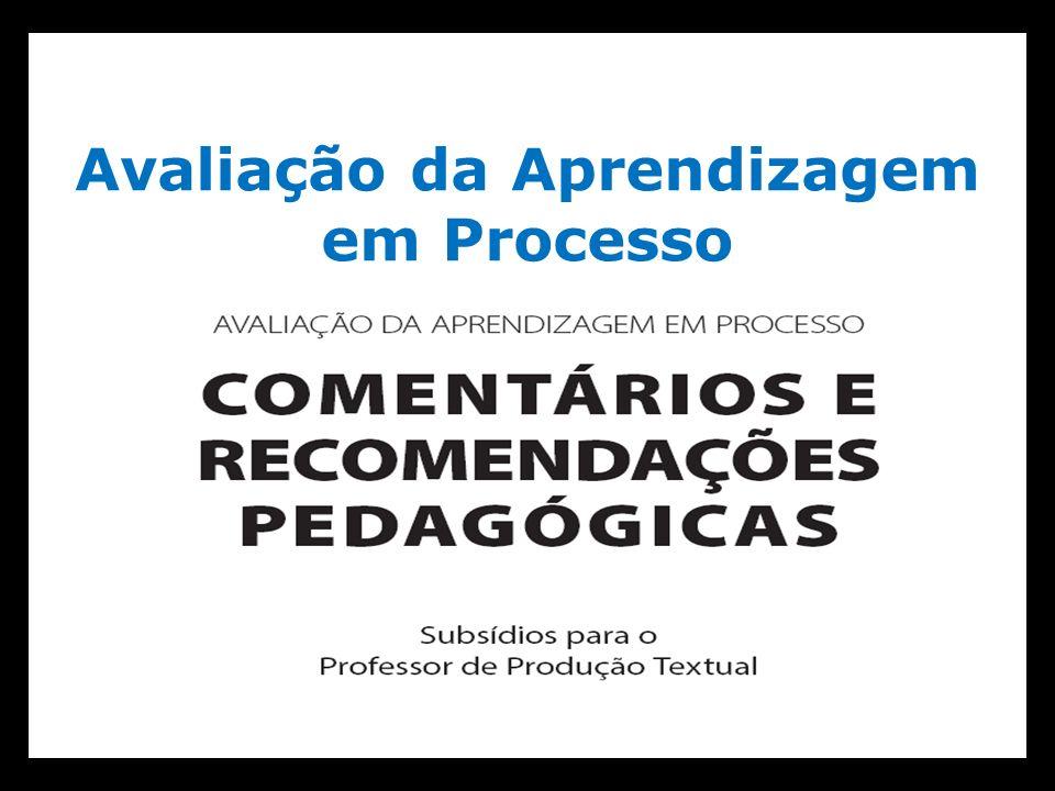 Avaliação da Aprendizagem em Processo Língua Portuguesa