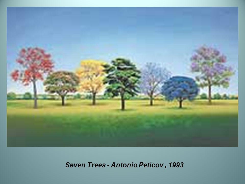 Seven Trees - Antonio Peticov, 1993