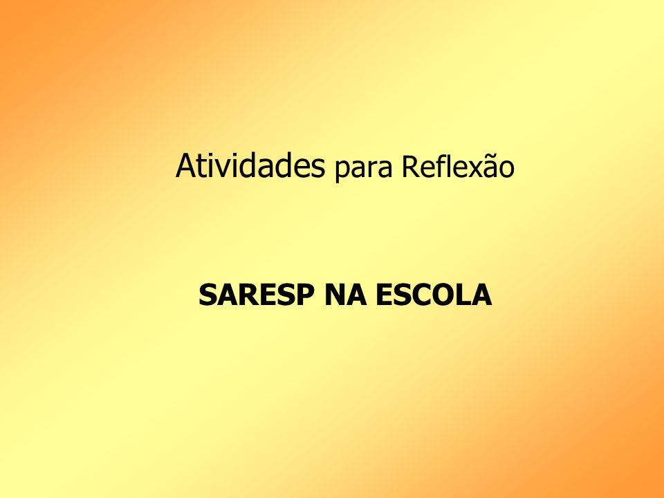 Atividade 1 SARESP NA ESCOLA Língua Portuguesa p.32 Matemática p.