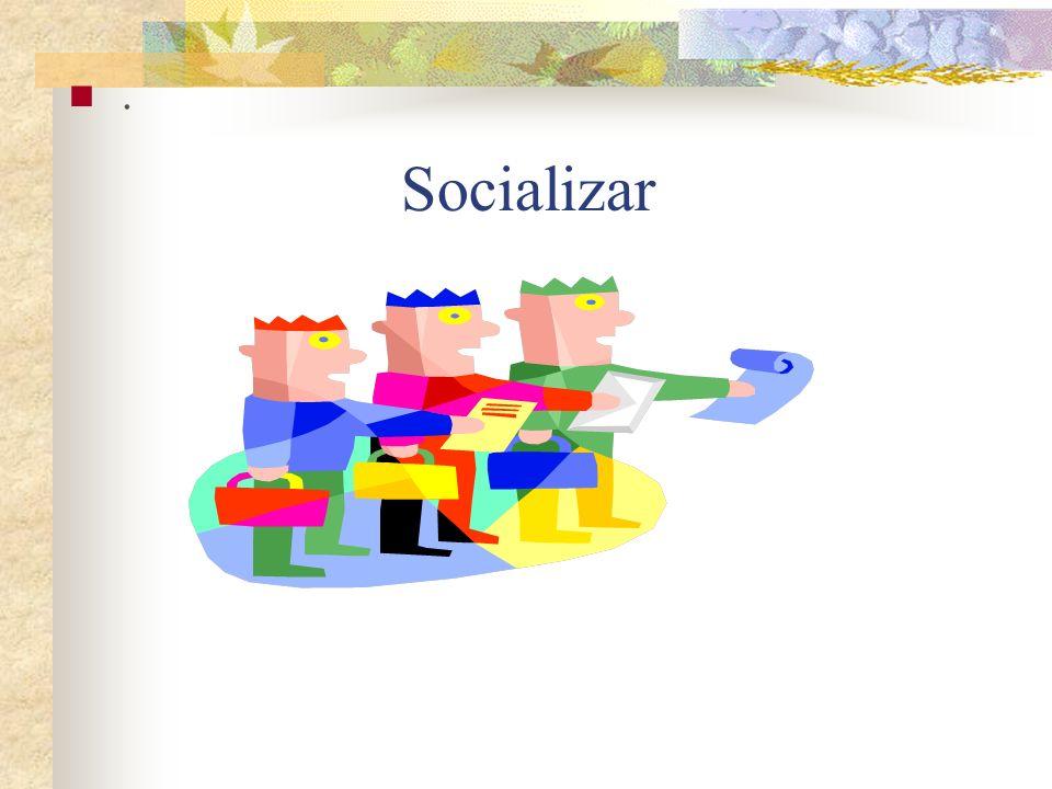 Socializar.