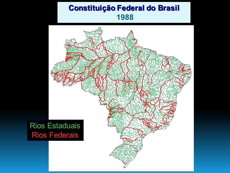 Rios Estaduais Rios Federais Constituição Federal do Brasil 1988