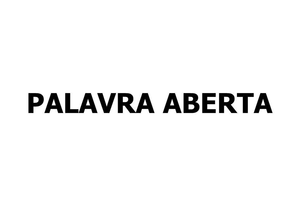 PALAVRA ABERTA