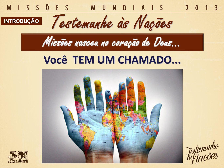Missões se faz… Testemunhe às Nações 1.com os joelhos dos que oram.