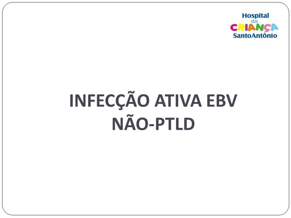 INFECÇÃO ATIVA EBV NÃO-PTLD
