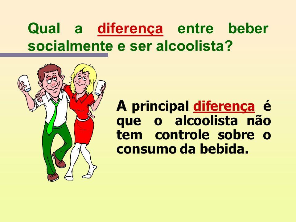 O que é o alcoolismo? É uma doença crônica, tratável, como as demais e muito comum que se caracteriza pelo uso descontrolado do álcool trazendo uma sé