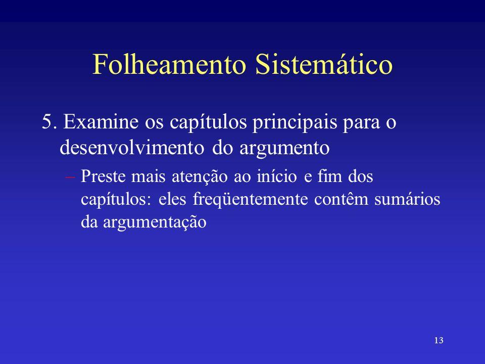 13 Folheamento Sistemático 5.