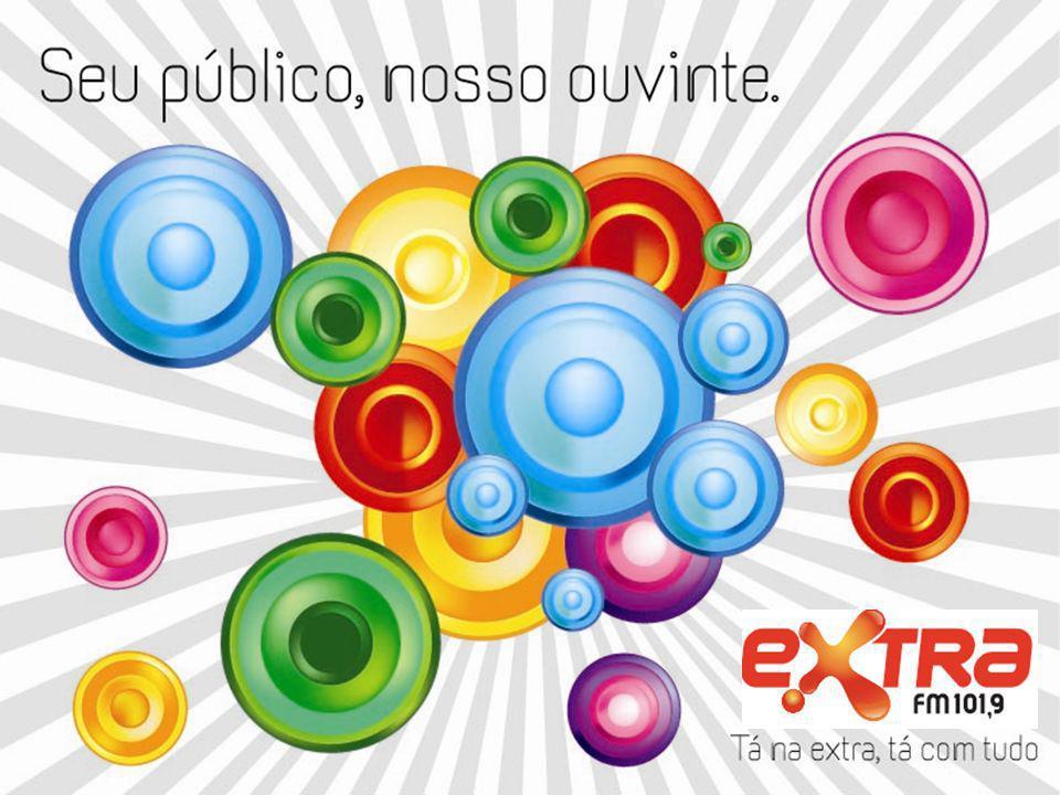 RÁDIO EXTRA FM A Extra FM tem uma programação eclética, tocando o melhor dos sucessos.