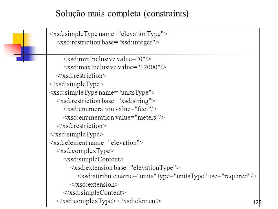 125 Solução mais completa (constraints)