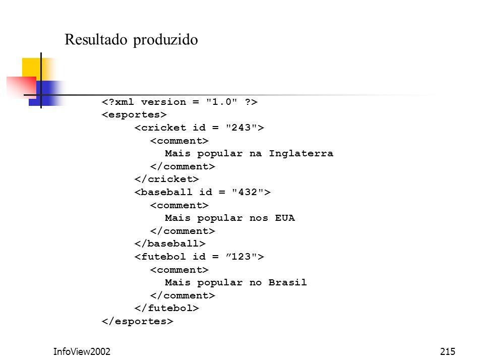 InfoView2002215 Mais popular na Inglaterra Mais popular nos EUA Mais popular no Brasil Resultado produzido