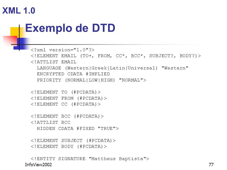 InfoView200277 <!ATTLIST EMAIL LANGUAGE (Western|Greek|Latin|Universal)