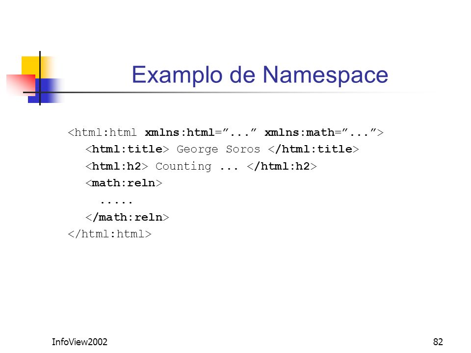 InfoView200282 Examplo de Namespace George Soros Counting........