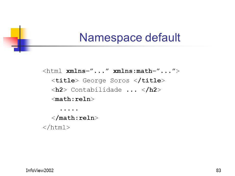 InfoView200283 Namespace default George Soros Contabilidade........