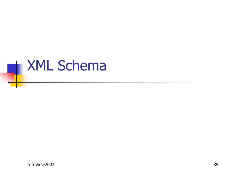 InfoView200285 XML Schema