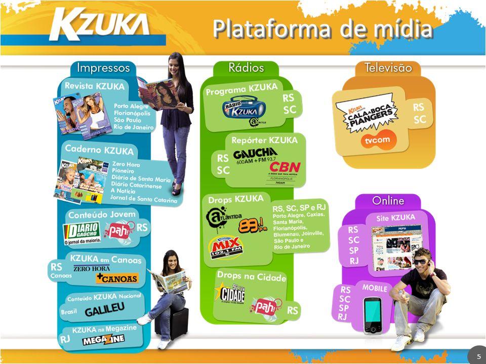 5 Plataforma de mídia 5