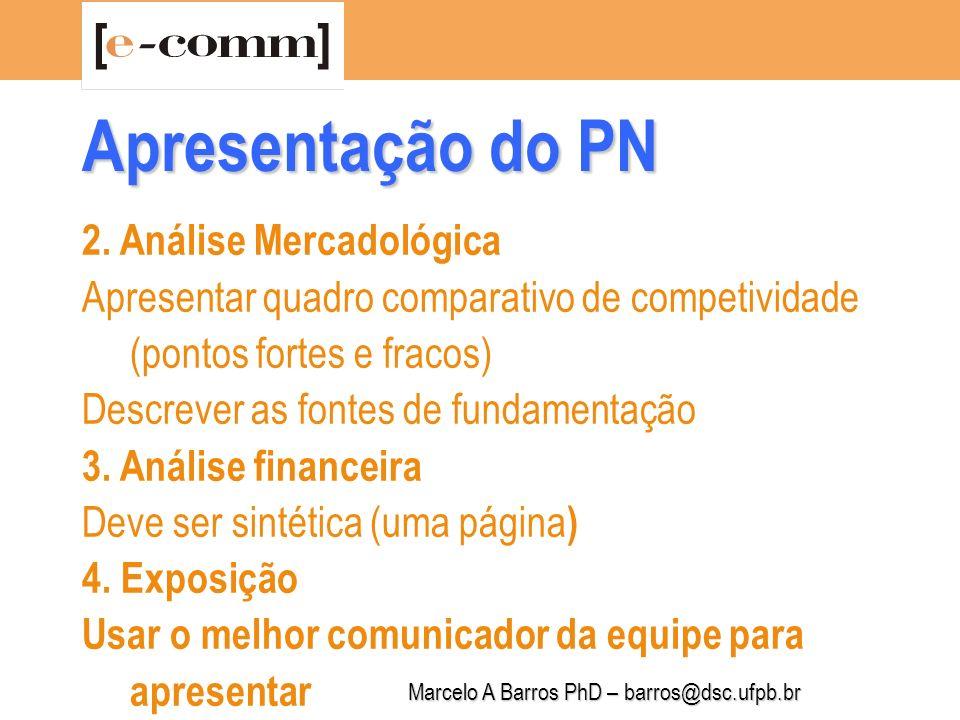 Marcelo A Barros PhD – barros@dsc.ufpb.br 4.