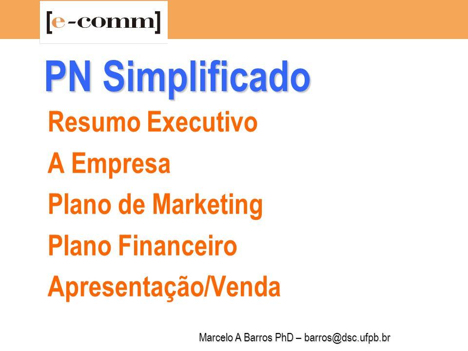 Marcelo A Barros PhD – barros@dsc.ufpb.br Resumo Executivo Instrumento de Venda do PN Preparado no Final