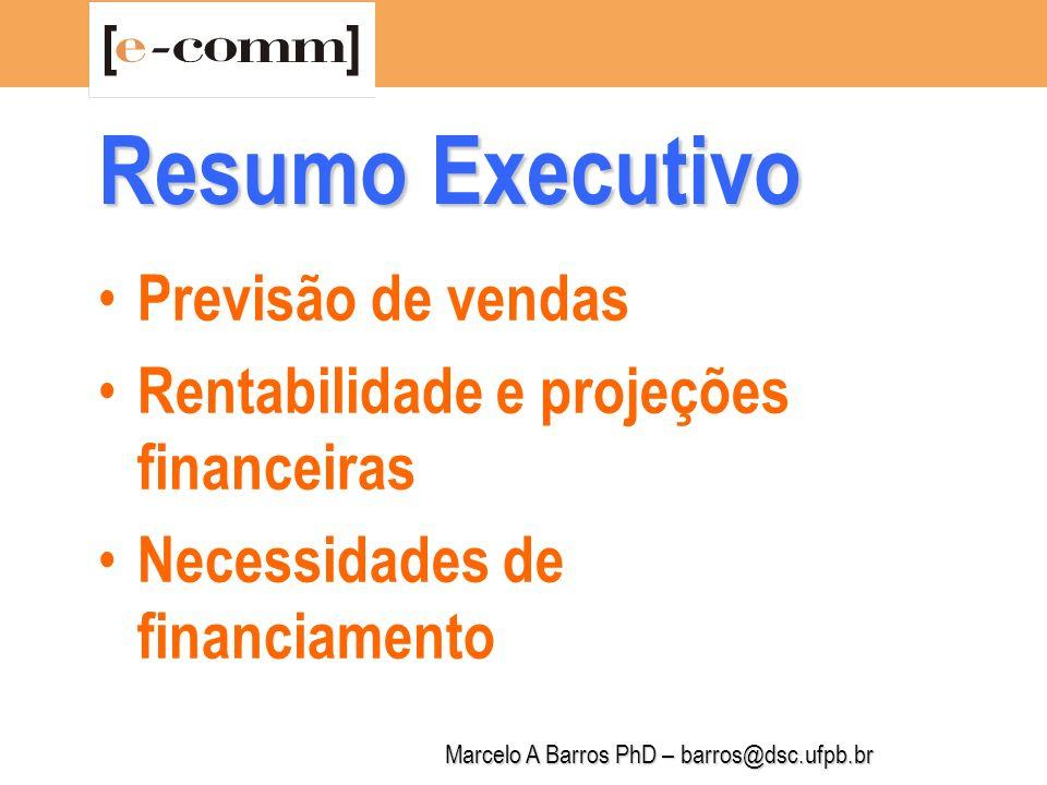 Marcelo A Barros PhD – barros@dsc.ufpb.br Descrição da Empresa 1.