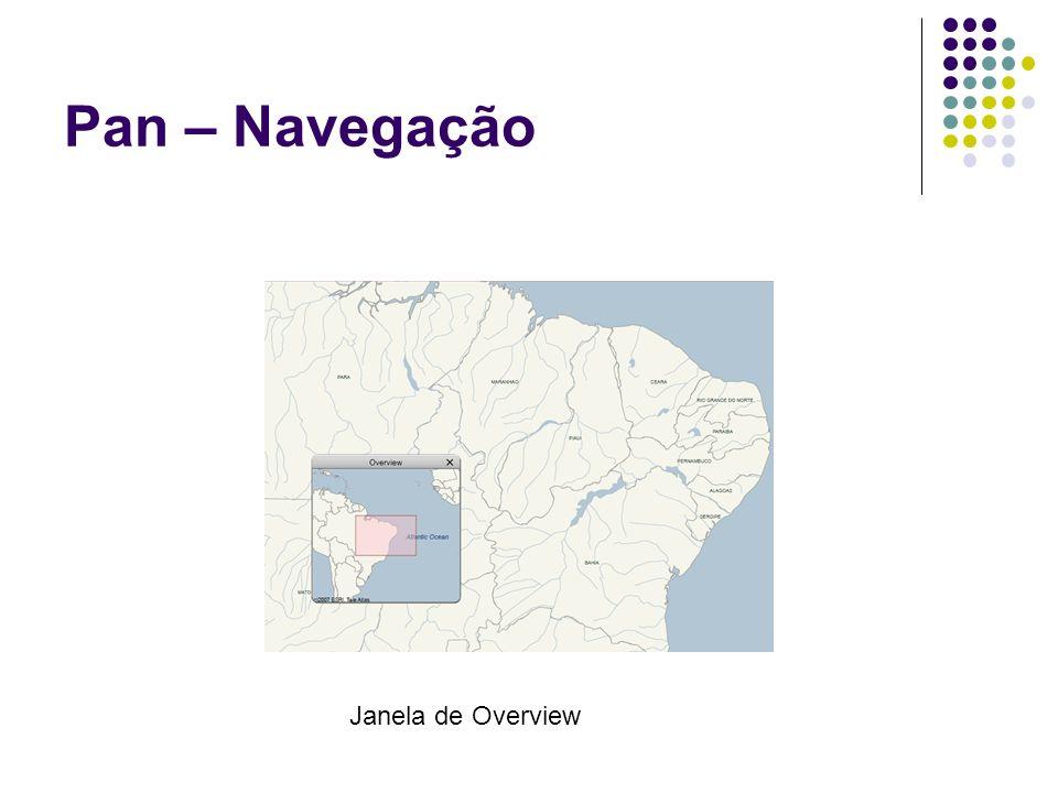 Pan – Navegação Janela de Overview