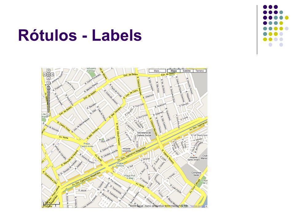 Rótulos - Labels