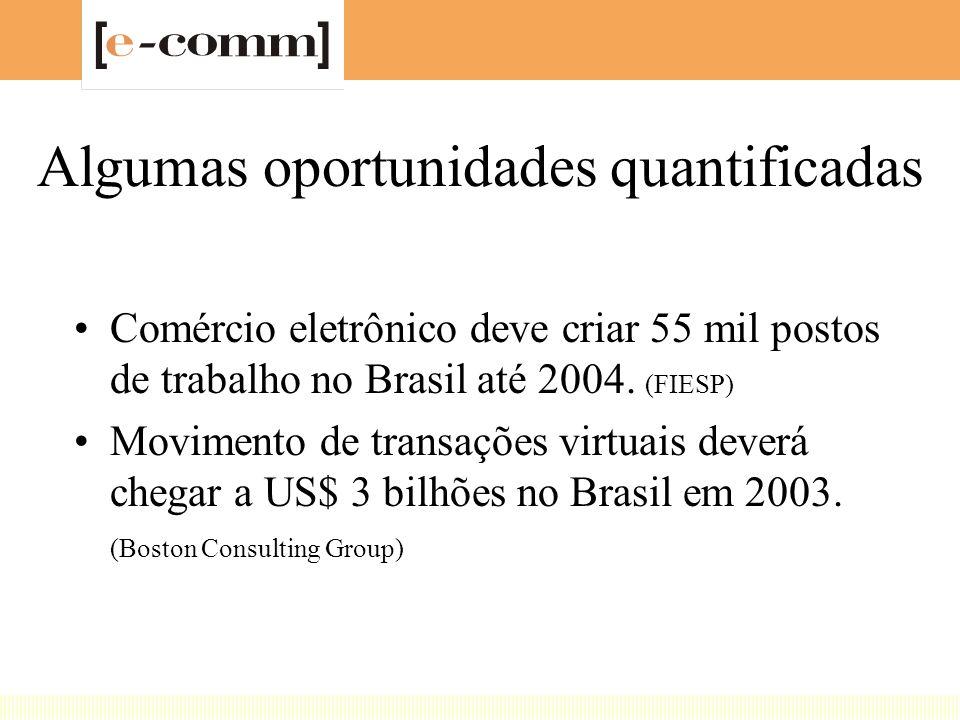 Estudo Termômetro Empresarial (Arthur Andersen,15a. Edição, 2000) –500 maiores empresas no Brasil –Ameaças: 95% acham que há fortes pressões da concor
