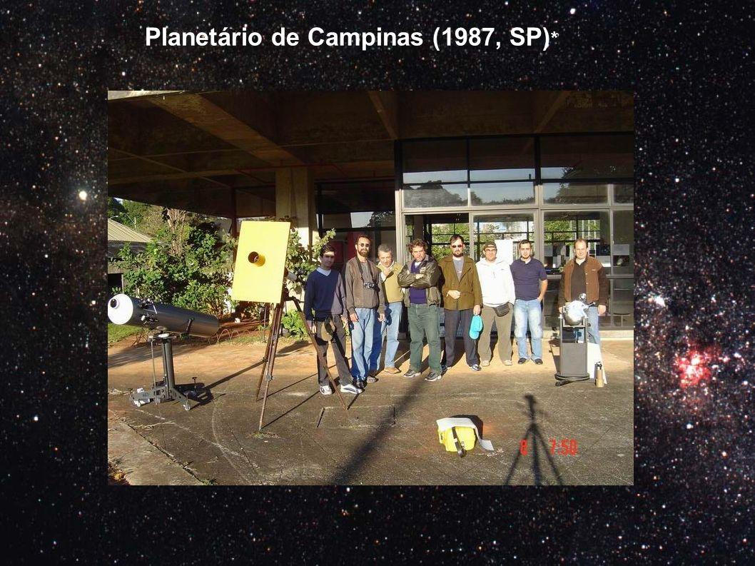 Planetário de Campinas (1987, SP) *
