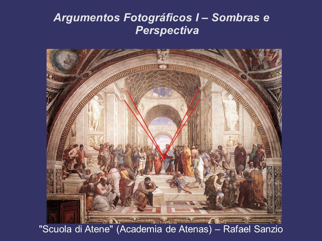 Argumentos Fotográficos I – Sombras e Perspectiva Scuola di Atene (Academia de Atenas) – Rafael Sanzio