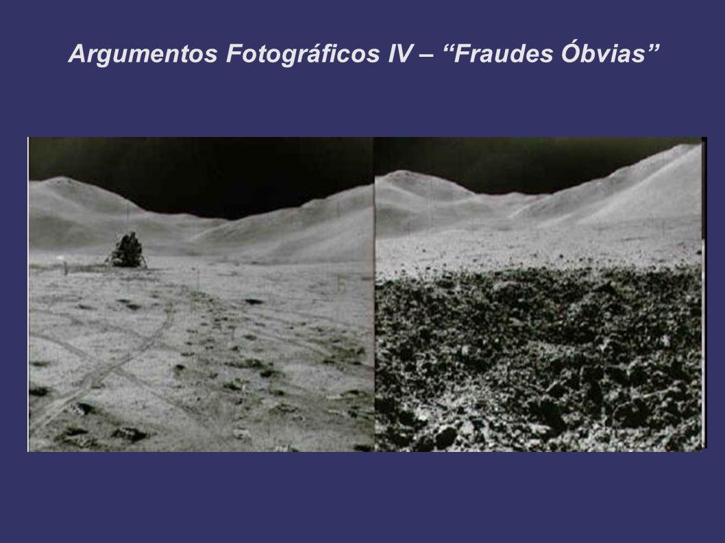 Argumentos Fotográficos IV – Fraudes Óbvias