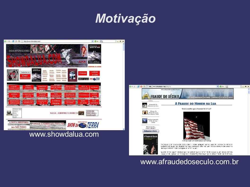 Motivação www.showdalua.com www.afraudedoseculo.com.br