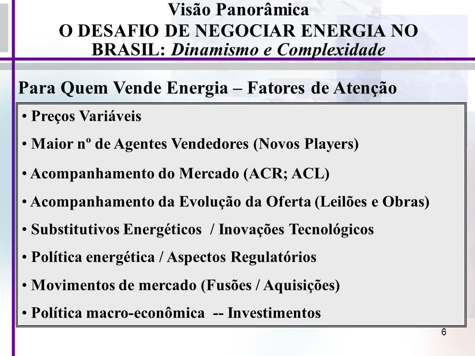 17 A Energia Elétrica como Produto / Serviço Comercial Características da Energia Elétrica (produto/serviço comercial): a) bem de consumo de massa, essencial para qq.