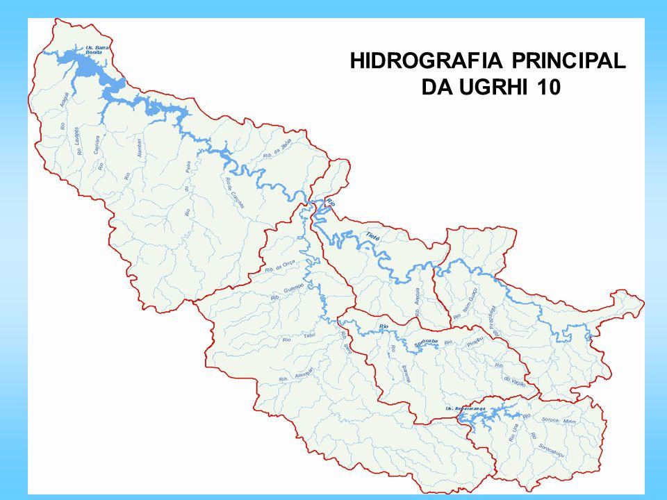 HIDROGRAFIA PRINCIPAL DA UGRHI 10