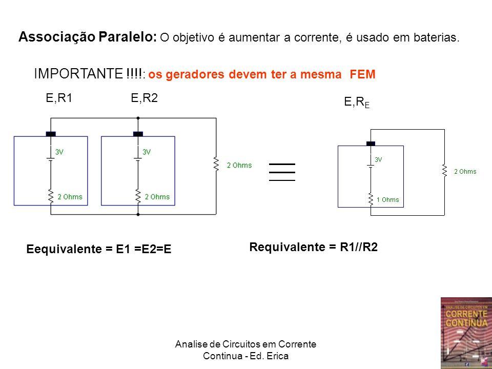 Analise de Circuitos em Corrente Continua - Ed.